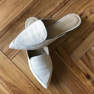 Marc Fisher Woven Mule Flats